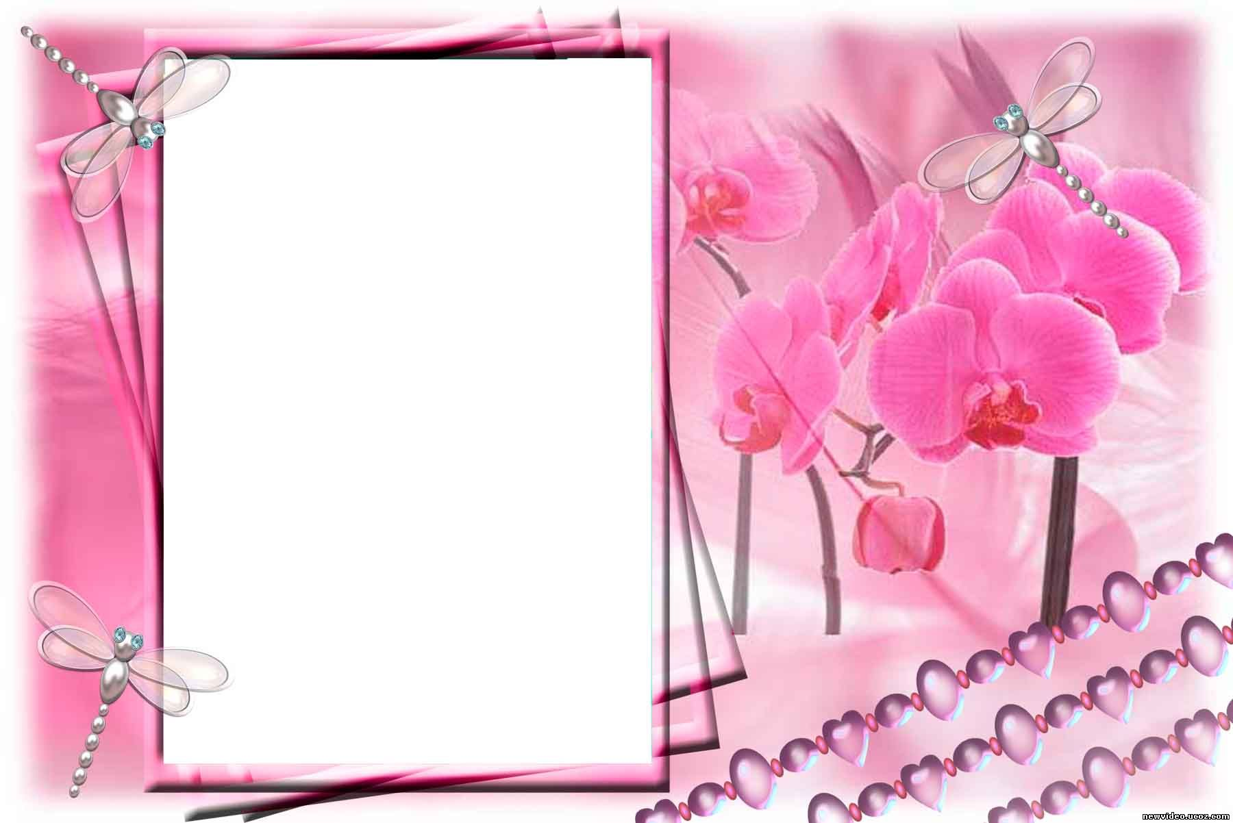 Шаблон для фотографии для открытки